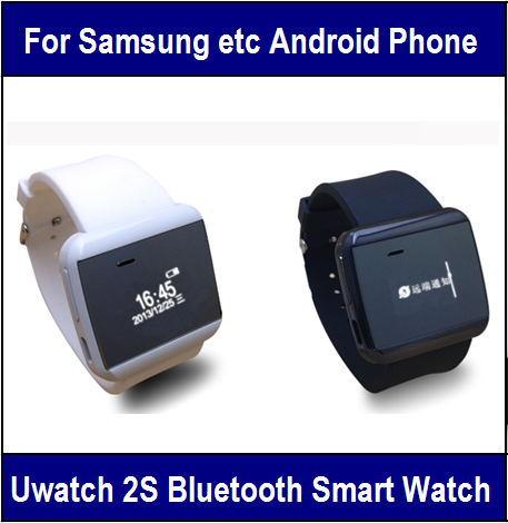 "U Watch 2S Smart Bluetooth Watch Communication Partner For Android Smart Phone 0.96"" OLED Music Player Message Multi Language(China (Mainland))"