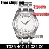 T035.407.11.031.00 men fashion Automatic Self-Wind Casual watch luxury brand relogios masculino steel belt mechanical watch