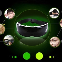 2015 Delicate beaty Healty care eys Mask massager USB Migraine DC Electric and Battery Care Eye Massager with 1USB Cable