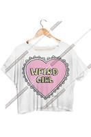 Hop selling 2015 New style casual women Blusas fashion printed heart T-shirt  lady loose O-neck blouse Tops LJ916XGJ