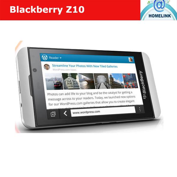 100% z10 d'origine blackberry téléphone mobile nfc 3g gps wifi téléphone débloqué téléphone tactile 4g 4.2'' 2+16gb dual core livraison gratuite