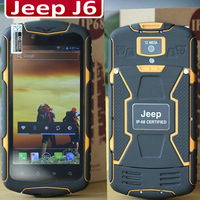 Cestina Slovak Romana Russian Greek Original Jeep J6 Rugged Phone 5.0'' 1280x720P IPS MTK6592 Octa Core 1.7GHz 1GB 8GB 13.0MP