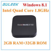 NEW! GULEEK i7 Quad-Core Windows 8.1 Smart Google TV Player w/ 2GB RAM, 32GB ROM, HDMI
