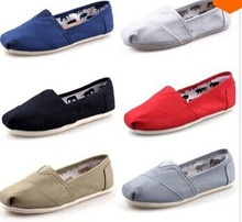 Free shipping Size 35-45 Wholesale New Brand Fashion Women Flats Shoes Women Canvas Shoes loafers Espadrilles summer Sneakers(China (Mainland))