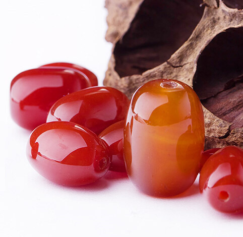 Hot Natural Red pearl barrel beads Agate Beads Natural Red onyx bead For DIY Fashion Jewelry Bracelet Making Free shipping(China (Mainland))