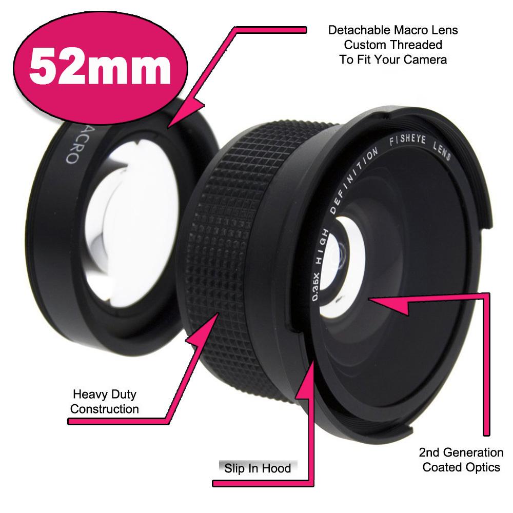 Panoramic Lens Nikon Lens For 52 mm Nikon D7000