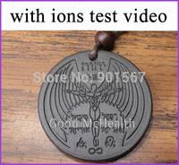6000 - 7000 negative ions 2015 new ANGEL SHEKINAH design Quantum Scalar Energy Pendant provide ion test video free shipping