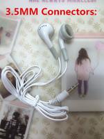 drop shipping Headphone For iPod for iPhone for Samsubg ect MP3 MP4 earphone 3.5mm In-Ear Earphone Headphone