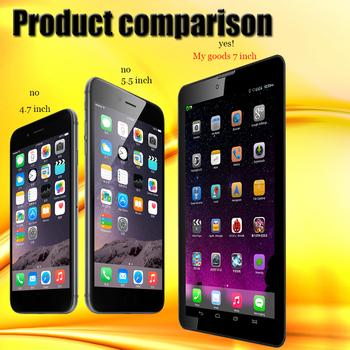 Высококачественный 4-ядерный смартфон MTK8382, 7 дюймов, 3 G, Андроид 2 Гб, ОЗУ 16 Гб, ПЗУ, 2 мп, 5 мп, двойная камера, блютуз, GPS IPS Tablet PCS