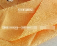 "rectangle 120x180cm / 48x72"" gold table cloth polyester textiles home decoration jacquard white linen tablecloths"