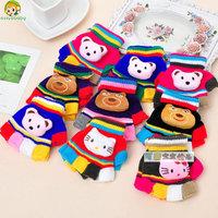 Avivababy soft knit child gloves anti-scratch mittens baby short gloves cute gloves  winter warm mittens children accessories