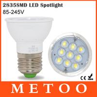 1pc High Power E27 Led Spotlight Bulb 2835 SMD 85-245V 9LEDs 5W Led Light 110V 220V Spot light lamp Downlight Lighting