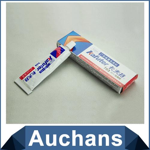 Kafuter K-703 RTV silicone sealant Single-component waterproof glue Silicone Rubber Adhesive Sealant(China (Mainland))