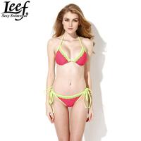 New Arrival LEEF Sexy Bikini Bathing Suits for Women Sexy Beach Swimsuits Bikini for Girls Swimsuit Bandage Bikini Free Shipping