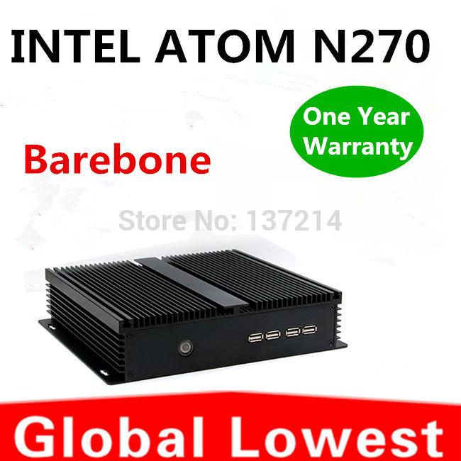 2014 New Thin Client Computer, Mini PC, Intel Atom N270 CPU, Windows XP, Fanless(China (Mainland))