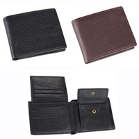 Free Shipping!New Fashion  High Quality Men Wallets Genuine Leather Short  Wallets  Men Purses Wallets  C3338