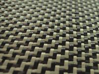Free Shipping Aramid 1670Dtex Carbon 3K Fiber Weave Fabric 200g/m2 Carbon Aramid Yarn Pattern Woven Cloth