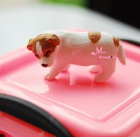 Free Shiping~PET Cool Puppy Dog Cute 1/12 Dollhouse Miniature Animal Furniture Mini Toy 2 Style Re-ment