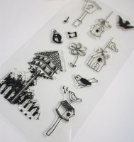 5styles Clear Stamp Design Transparent Silica gel Stamp/Seal DIY Scrapbooking