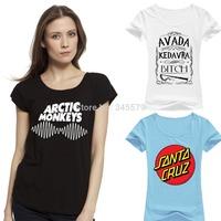 Breaking Bad Heisenberg T Shirt Women Arctic Monkeys tshirt Cotton O Neck London Boy Woman Tops Tees RF T-Shirt Free Shipping