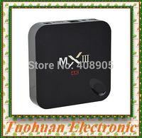 Original MXIII Android 4.4 4K Kitkat Amlogic S802 Quad-Core MXIII TV BOX 2GB/8GB Google MX3 2.4/5GHz Dual band Wifi Free Ship
