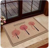 Jute Door Mat Bathroom Rugs And Carpets Decorative For Living Room Bedroom Kitchen Anti-Slip Floor Mats Home tapetes banheiro