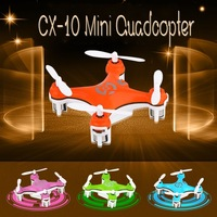 Electronic 2014 New Cheerson CX-10 CX10 Nano Quadcopter 4 Channel with 6 Axis gyro RC Quadcopter Remote Control Toys