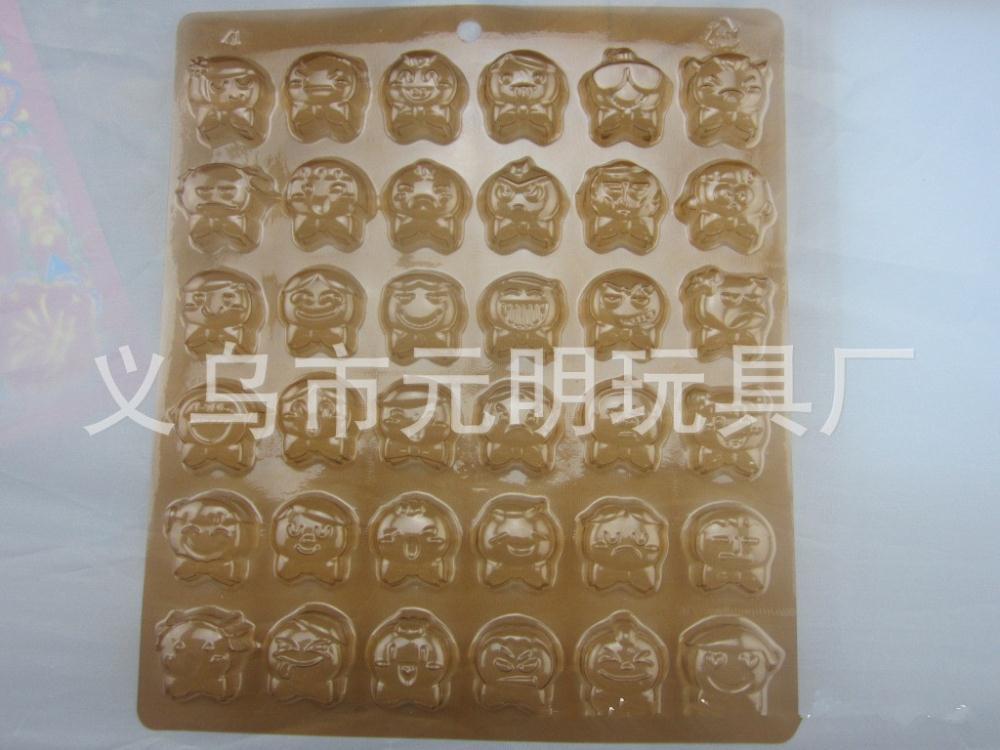 DIY chocolate mould head 36 styles joys sorrows Cake Bakeware Tools Chocolate Ice Mold Cake Decoration Jelly Pudding tools(China (Mainland))