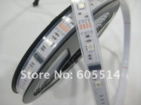 [Seven Neon] Free shipping 50meters IP67 waterproof 5050 led smd strip/IC6803 led strip+led controller+4pins cable for Akihiro