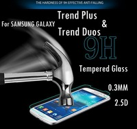 For Samsung Galaxy Trend Duos S7562 S7560 Trend Plus S7580 S7582 Premium Tempered Screen Protector 2.5D 0.3mm Glass Film