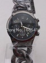 Envío gratis MlCHAEL ~ korss hombres mujeres relojes, moda de acero inoxidable movimiento exacto del cuarzo del diamante pulsera 0mk0