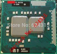 Original Core i3-350M CPU (3M Cache, 2.26GHz, i3 350M ) SLBPK / SLBU5 PGA988 TDP 35W Laptop CPU Compatible HM55 QM57 PM55 HM57