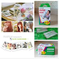 Hot Sale !!!60Pcs  Fujifilm Instax Mini film for Instant Camera mini 8 7s 25 50s 90 White Edge 3 inch film Photo Paper78618