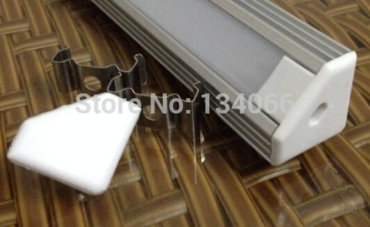 10pcs(20m)/lot x 2m long Silver Color Aluminum Led Channel for Led Strip light AP1919(China (Mainland))