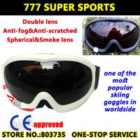 2015 Newest Premium Polarized Skiing Goggles Snowboard Eyewear Motorcycle Gafas  Snow Sport Gear