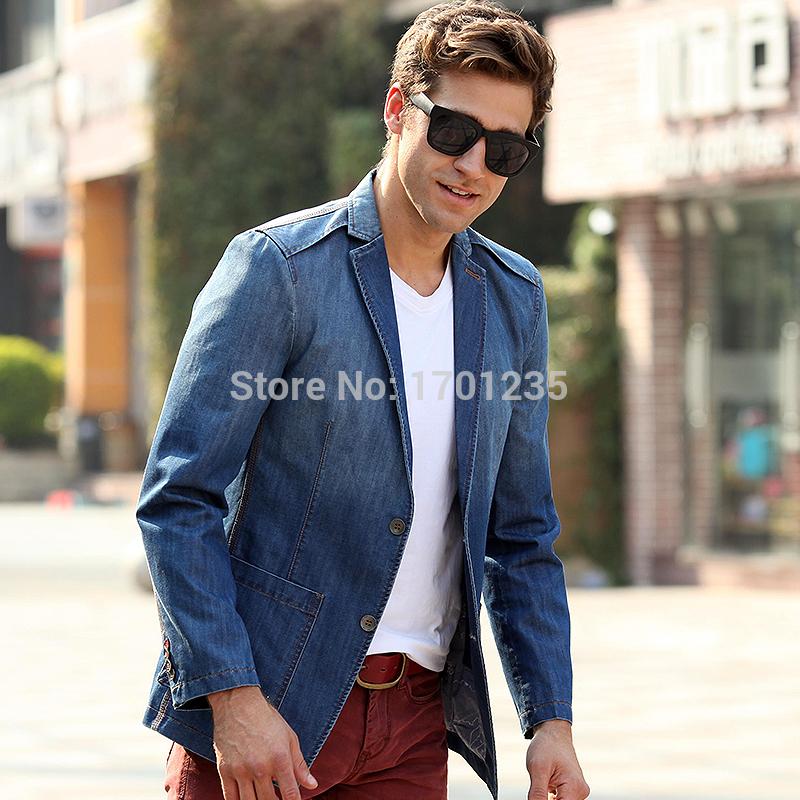 Mens Suit Jacket Blue Suit Jacket Men Blue Coat