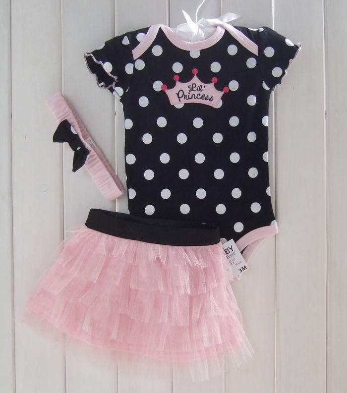 Baby Clothing Set Carters Baby Girl Sets Romper Tutu Skirt