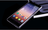 New 2014 Huawei Ascend P7 Mobile Phone Cases Ultra Clear Crystal Hard Case Cover for Ascend P7 Free Shipping