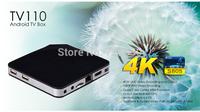 TV receiver android S805,Cortex A5,4 CPU(1.5GHZ) + 4GPU(Mali-450) TV  set-top android smart tv box bluetooth wifi mx2 8G flash