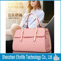 European and American Fashion Women Casual Shoulder Bag Fish Bone Pattern Handbag Messanger Bags