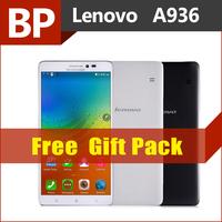 Original Lenovo A936 4G FDD LTE 6 Inch 1280x720 MTK6752 Octa Core  Android 4.4 Mobile Cell Phone 1GB RAM 8GB Rom13MP 3300mAh GPS
