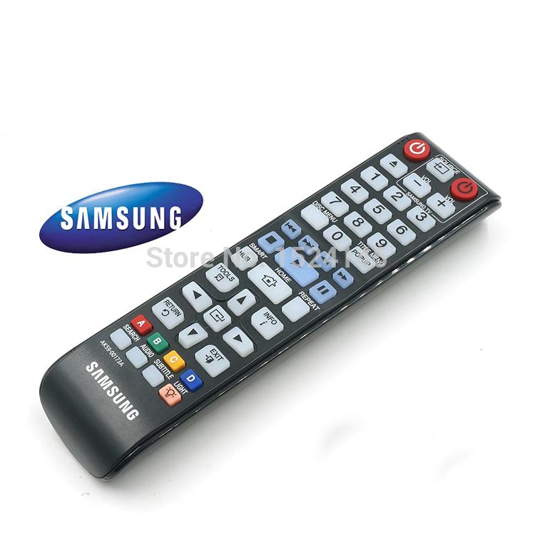 New Original factory quality high samsung LCD TV blu-ray backlight universal remote control AK59-00173A(China (Mainland))