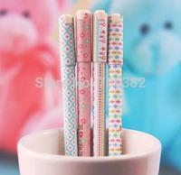 Fashoin style gel pens,  0.35mm black refill,  Bulk pen for school, office, Stationery (SS-a289-1)