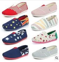 New 2015 Women Shoes Spring Autumn Canvas Flats Women Fashion Casual shoes sapatos femininos Free Shipping G19