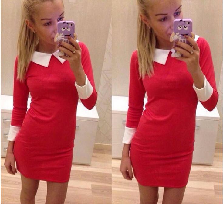 Женское платье Brand New 2015 vestido feminine vestido женское платье brand new 2015 fz187