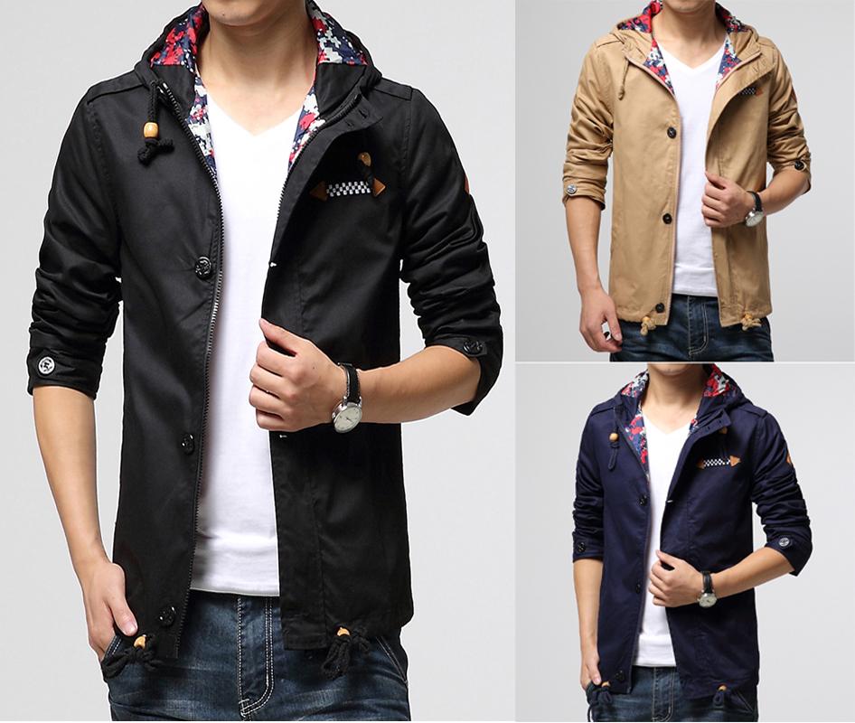 Купить Мужские Ветровки Куртки Пальто