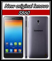 "Original Lenovo S860 Quad Core Cell phone MTK6582 1.3GHz 5.3"" IPS HD 1280x720 Android 4.2 1GB RAM 16GB Dual SIM"