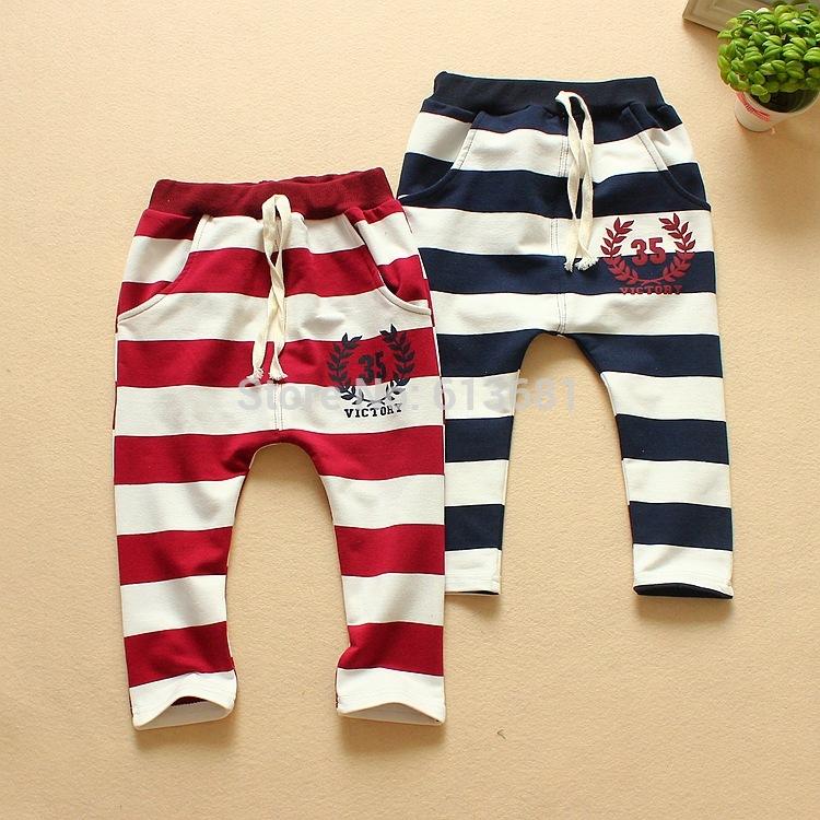 Штаны для мальчиков Kids pants 2015 boys pants
