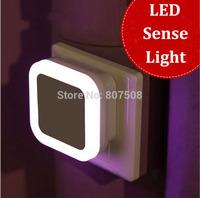 mini Novelty LED night light led sense light square