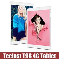 Original Teclast T98 4G Tablet PC Octa Core MTK8752T 9.7 Inch IPS Retina Android 4.4 16GB ROm 2GB RAm 13.0 Mp camera